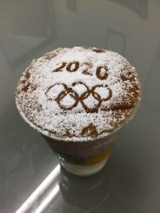 東京オリンピック2020パフェ