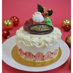 クリスマス用アイスケーキ